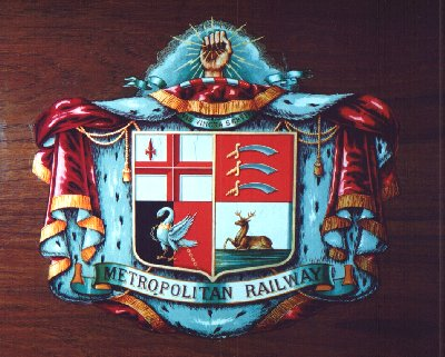 Metropolitan Railway coat of arms.