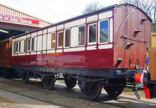 The Midland six wheel carriage